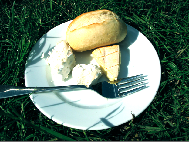 (Late) breakfast on the grass