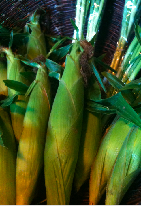 Corns and Green Onions