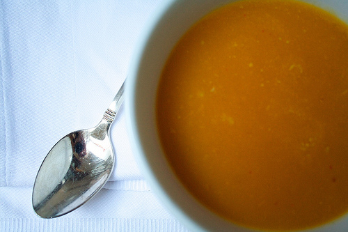Pumpkin and Pear Soup