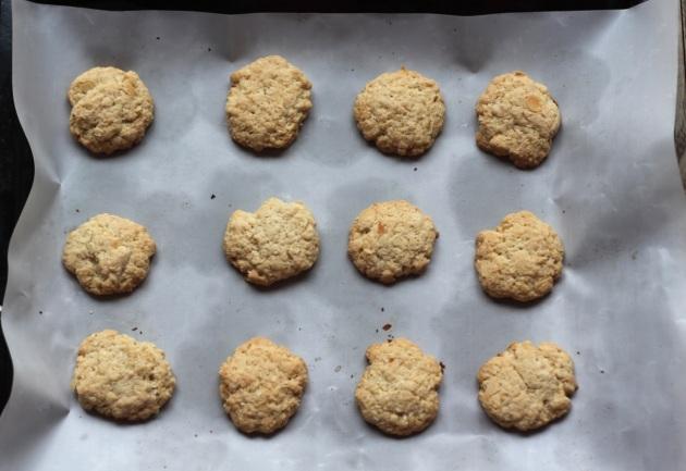 Ciasteczka kokosowo-migdałowe