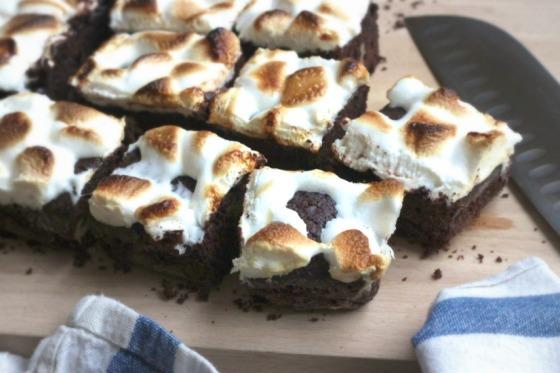 Brownie z piankami marshmallows