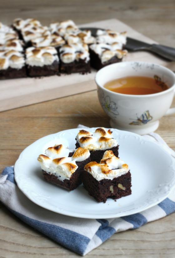 Brownie z piankami marshamllows