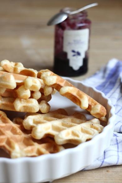 Belgian waffles in Warsaw