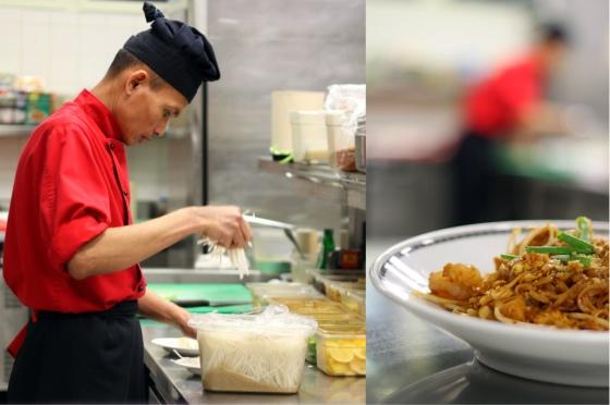 W kuchni restauracji Oriental
