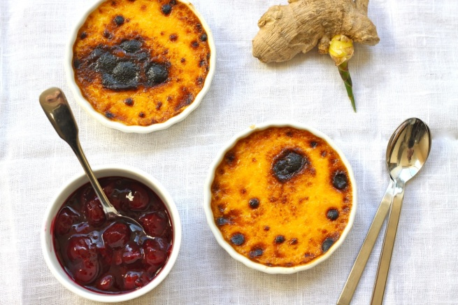 Imbirowy creme brulee