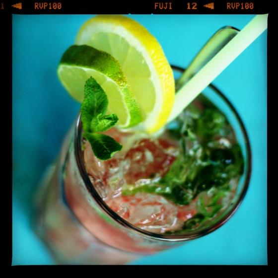 Lemoniada arbuzowa z miętą - Latawiec