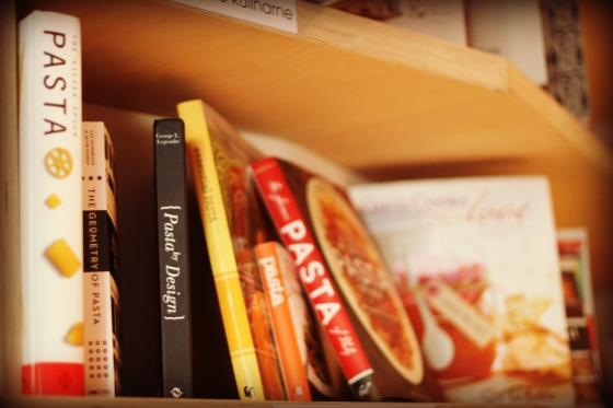 Coś dla mnie - cała półka książek o pastach
