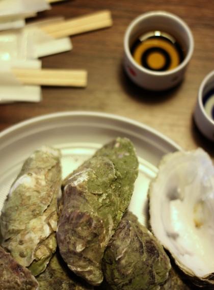 Ostrygi z Miyagi