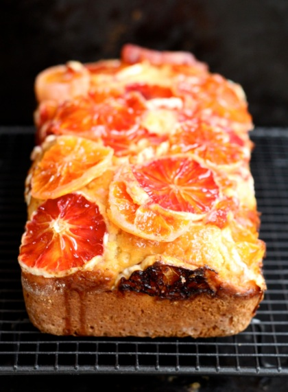 Red Oranges Yoghurt Cake