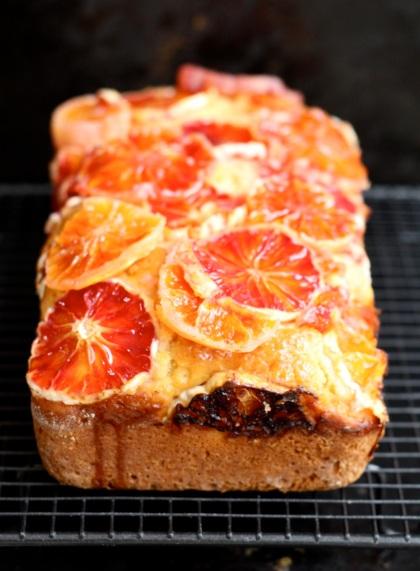 Red Oranges Yoghurt Cake