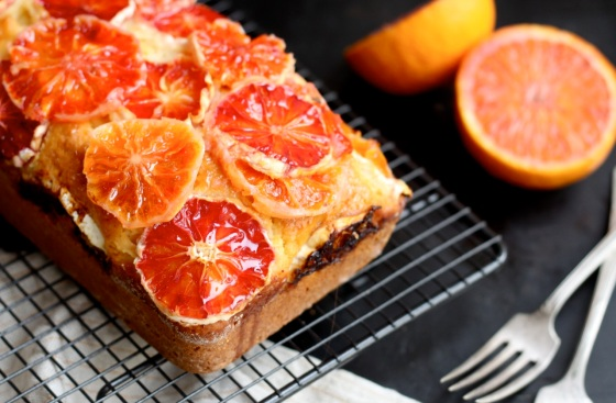 Red Orange Yoghurt Cake
