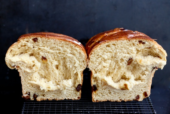 Brown sugar brioche