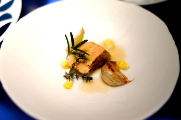 Foie gras escabeche