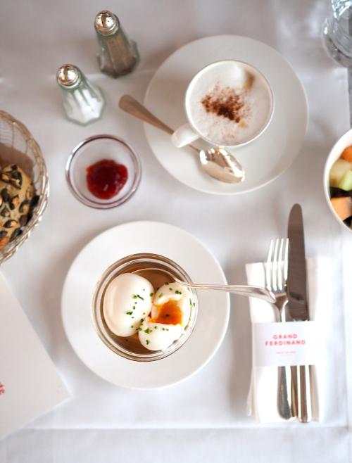 Grand Ferdinand Wien breakfast