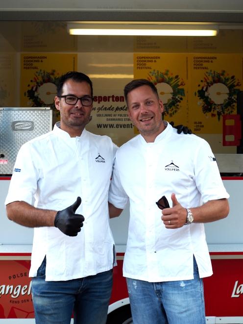 Ebbe i Mats Vollmers, twórcy i szefowie kuchni dwugwiazdkowej restauracji Vollmers w Malmo