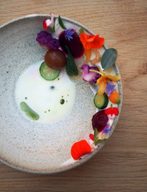 Danie Sang-Hoon Degeimbre z restauracji L'Air du Temps