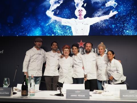 """Jury: Paul Pairet, Virgilio Martínez, Annie Féolde, Dominique Crenn, Brett Graham, Ana Roš i Margarita Forés – czyli """"Seven Sages"""""""