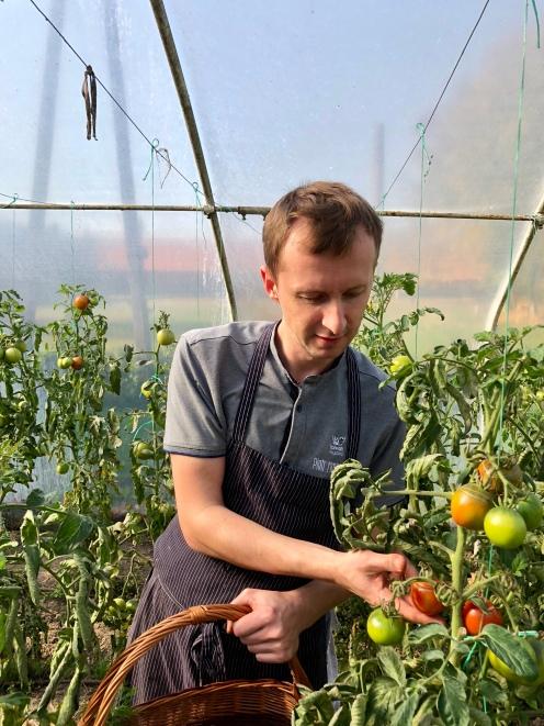 Piotr Markowski, szef kuchni Źrebięciarni