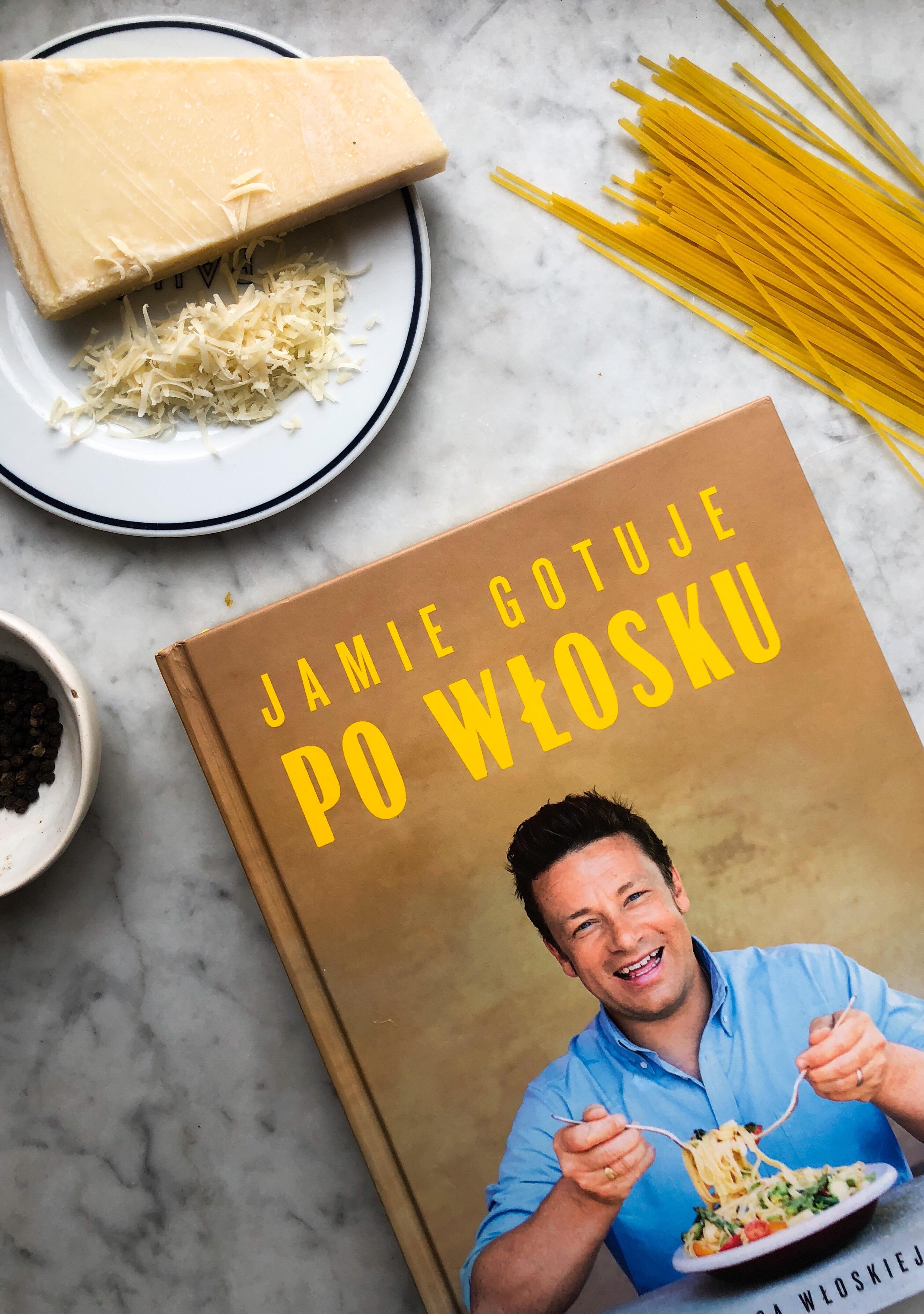 Cacio E Pepe Jamiego Olivera